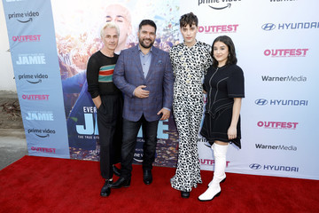 """Max Harwood Damien S. Navarro 2021 Outfest Los Angeles LGBTQ Film Festival Opening Night Premiere Of """"Everybody's Talking About Jamie"""""""