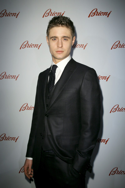 Max Irons - Front Row at Brioni