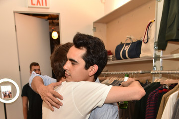 Max Minghella Band Of Outsiders Soho Store Opening
