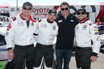 Max Thieriot Toyota Pro/Celebrity Race: Practice Day