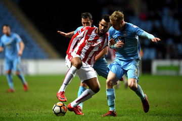 Maxim Choupo-Moting Coventry City v Stoke City - The Emirates FA Cup Third Round