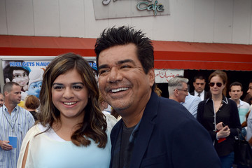 "Mayan Lopez ""SMURFS 2"" - Los Angeles Premiere - Blue Carpet"