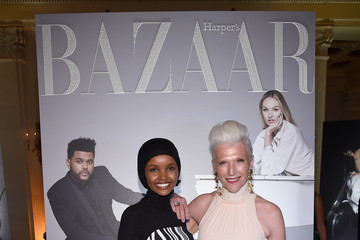 Maye Musk Harper's BAZAAR Celebrates 'ICONS By Carine Roitfeld' At The Plaza Hotel Presented By Infor, Laura Mercier, Stella Artois, FUJIFILM And SWAROVSKI - Photo Wall