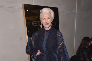 Maye Musk IMG NYFW: The Shows 2018 PARTNERS - February 10