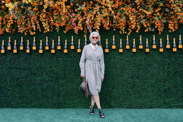 Maye Musk The Tenth Annual Veuve Clicquot Polo Classic - Arrivals