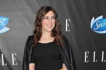 Mayim Bialik ELLE Hosts Women in Comedy Event With July Cover Stars Leslie Jones, Melissa McCarthy, Kate McKinnon and Kristen Wiig - Arrivals