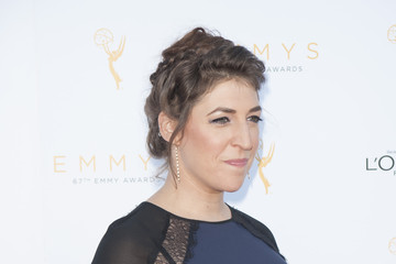Mayim Bialik Television Academy Celebrates the 67th Emmy Award Nominees