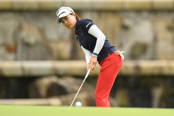 Mayu Hattori Golf 5 Ladies Tournament 2017 - Round Two
