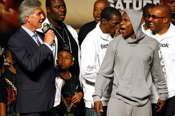 Koraun Mayweather Mayweather Jr. v Marquez Weigh-In