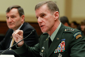Karl Eikenberry McChrystal And Eikenberry Testify Before House Foreign Affairs Committee