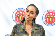 Keri Hilson attends the McDonald's All American Games Fan Fest at Centennial Olympic Park on March 24, 2019 in Atlanta, Georgia.
