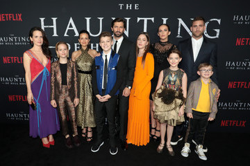 McKenna Grace Paxton Singleton Netflix's 'The Haunting of Hill House' Premiere And After Party