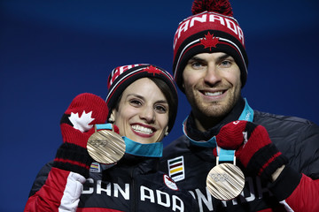 Meagan Duhamel Medal Ceremony - Winter Olympics Day 6