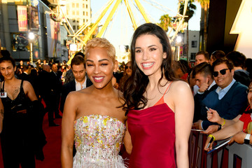 """Meagan Good Warner Bros. Pictures And New Line Cinema's World Premiere Of """"SHAZAM!"""" - Red Carpet"""