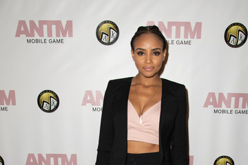 Meagan Tandy Tyra Banks And Ace King Productions Celebrate The Release Of The 'America's Next Top Model' Mobile Game - Arrivals