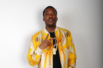 Meek Mill Backstage at BET's Rip the Runway Show