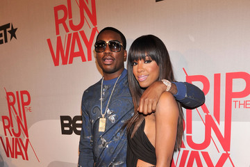 Meek Mill Celebs at BET's Rip the Runway Show