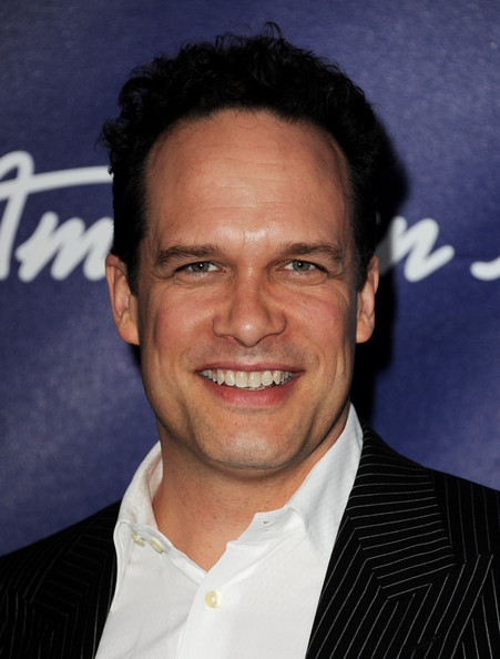 Actor Diedrich Bader arrives at Fox's American Idol finalist party at The Grove on March 1, 2012 in Los Angeles, California.