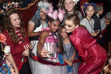 Meg Donnelly Stars Of Disney's 'The Nutcracker And The Four Realms' Attend The World Premiere At Hollywood's El Capitan Theatre
