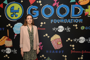 Megan Boone Jessica and Jerry Seinfeld Host GOOD+ Foundation's 2017 NY Bash - Arrivals