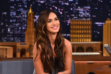 Megan Fox Megan Fox Visits 'The Tonight Show'