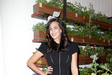 Megan Gale Celebrities Attend Derby Day