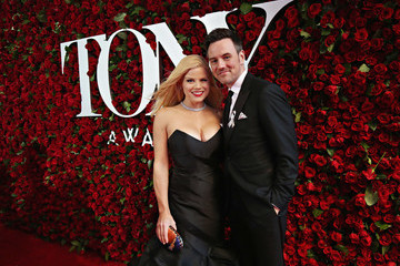 Megan Hilty Brian Gallagher Nordstrom Red Carpet Sponsorship of the Tony Awards on Sunday, June 12, 2016