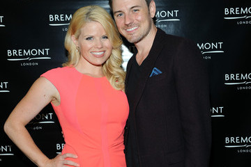 Megan Hilty Brian Gallagher Bremont Watches Opens NYC Boutique With Unveiling of America's Cup