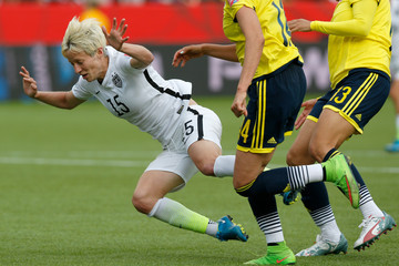 Megan Rapinoe United States v Colombia: Round of 16 - FIFA Women's World Cup 2015