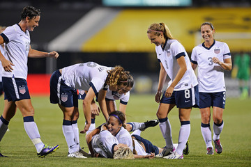 Megan Rapinoe New Zealand v United States
