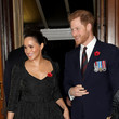 Meghan Markle The Queen And Members Of The Royal Family Attend The Royal British Legion Festival Of Remembrance