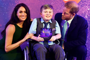 Meghan Markle The Duke And Duchess Of Sussex Attend WellChild Awards