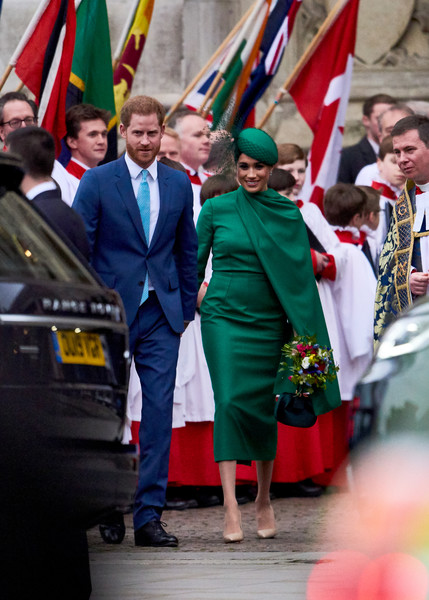 Commonwealth Day Service 2020 [event,flag,uniform,ceremony,gesture,harry,meghan,people,service,goals,commonwealth,sussex,duchess,duke of sussex,commonwealth day service,profession,socialite]