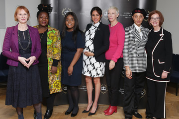 Meghan Markle The Duchess Of Sussex Joins A International Women's Day Panel Discussion
