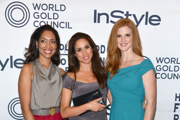 Meghan Markle Sarah Rafferty 13th Annual InStyle And The Hollywood Foreign Press Association's Toronto International Film Festival Party - Arrivals