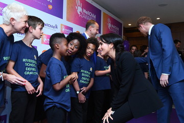 Meghan Markle The Duke And Duchess Of Sussex Attend The WellChild Awards