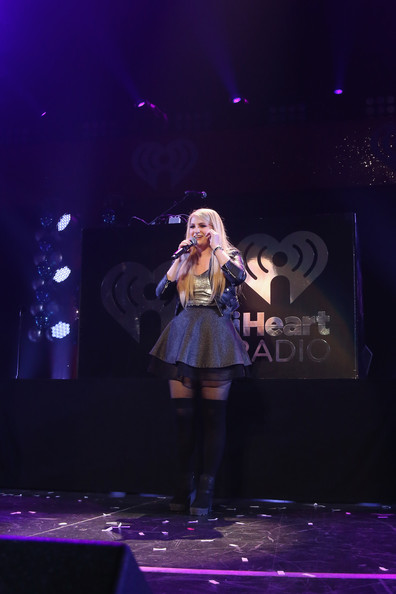 KISS 108's Jingle Ball 2014 - Show [performance,entertainment,performing arts,stage,music artist,singing,singer,event,public event,concert,meghan trainor,boston,massachusetts,td garden,kiss 108,market basket supermarkets,jingle ball 2014 - show]