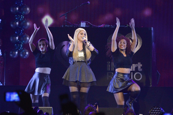 KISS 108's Jingle Ball 2014 - Show [performance,entertainment,performing arts,stage,event,public event,dancer,singing,pop music,performance art,meghan trainor,boston,massachusetts,td garden,kiss 108,market basket supermarkets,jingle ball 2014 - show]