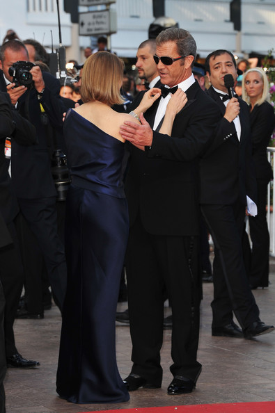 mel gibson cannes photos. Mel Gibson Director Jodie