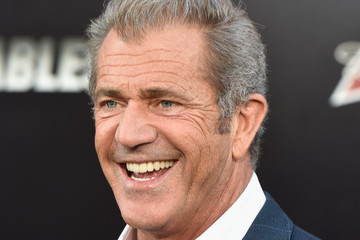 Mel Gibson 'The Expendables 3' Premieres in Hollywood