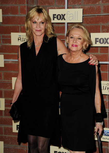 Tippi Hedren and melanie griffith