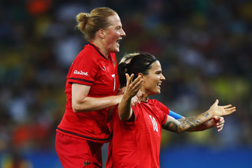 Melanie Behringer Sweden v Germany: Women's Football - Olympics: Day 14