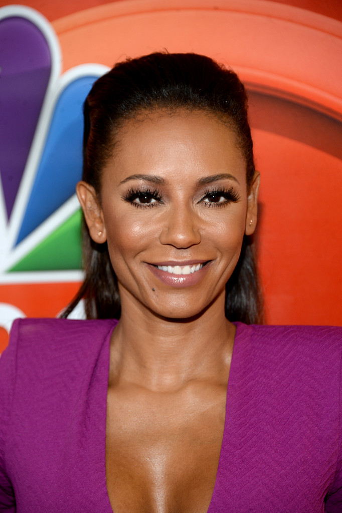 Melanie Brown attends the NBCUniversal Press Day in Beverly Hills 8/2/16