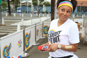Melanie Brown Shout and the Color Run Los Angeles