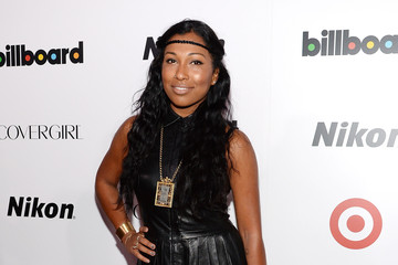 Melanie Fiona Arrivals at the Billboard's Women in Music Event