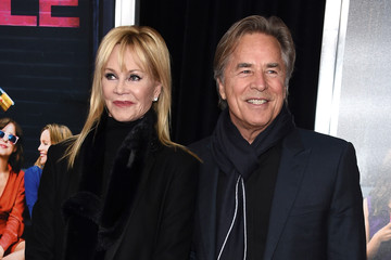 Melanie Griffith Don Johnson 'How To Be Single' New York Premiere