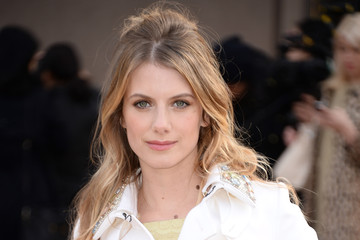 Melanie Laurent Burberry Womenswear Autumn/Winter 2014 - Arrivals