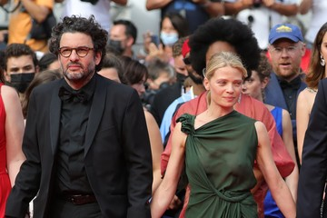 Melanie Thierry Eric Caravaca 'Invisible Demons' Red Carpet - The 74th Annual Cannes Film Festival
