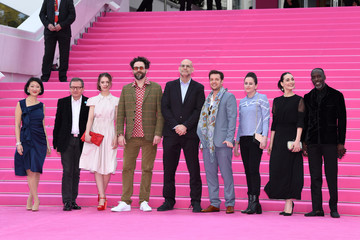 "Melisa Sozen ""Miguel"" and ""Undercover"" Pink Carpet Arrivals - The 1st Cannes International Series Festival"