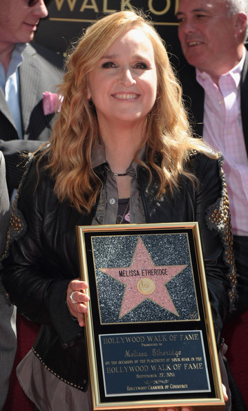 Melissa Etheridge Singer Melissa Etheridge attends the ceremony honoring her ...